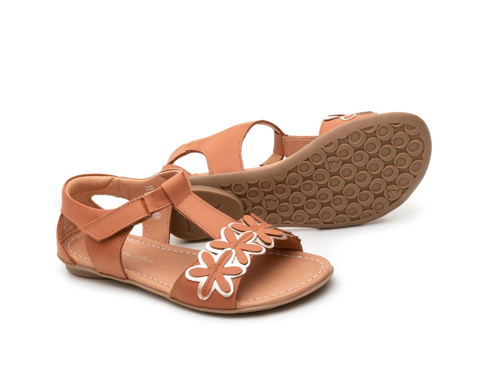 sandalia infantil feminino daisies