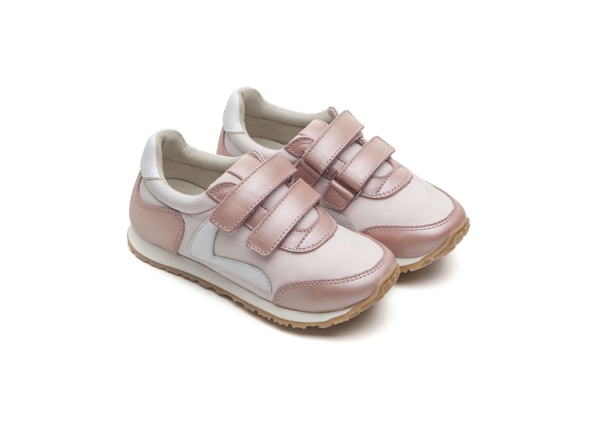 c7b311d5af Tênis Little Jump Light Pink Nylon  Pink Dream Toddler 2 à 4 anos - 0