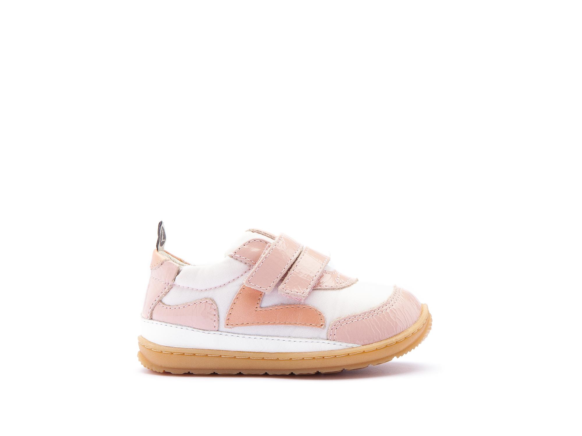 Sneaker Casual Jumpy Light Pink Nylon/ Patent Blush Baby 0 à 2 anos - 1