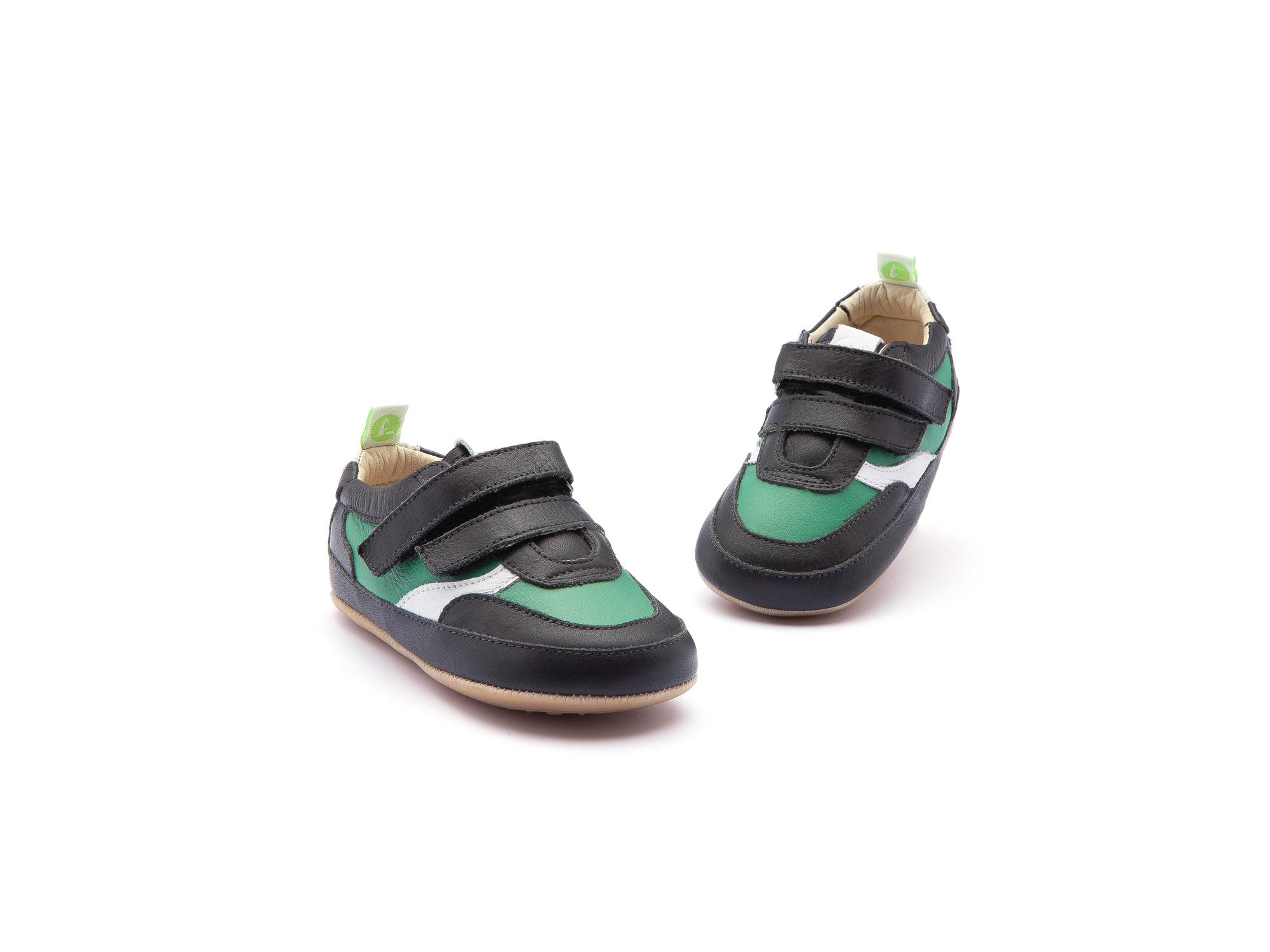 Tênis Streety Black/ Green Leaf Baby 0 à 2 anos - 3