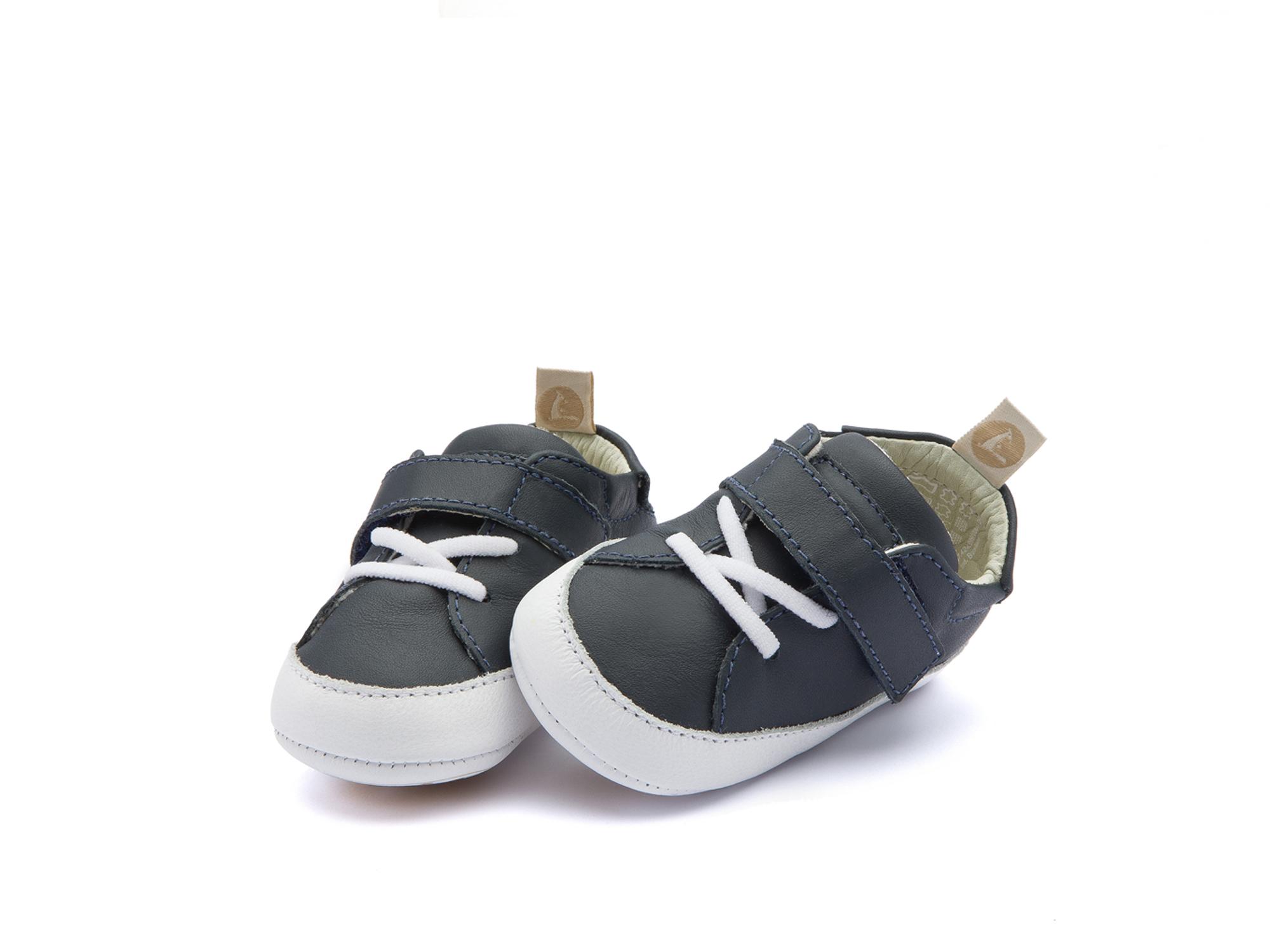 Tênis Light Navy/ White Baby 0 à 2 anos - 1