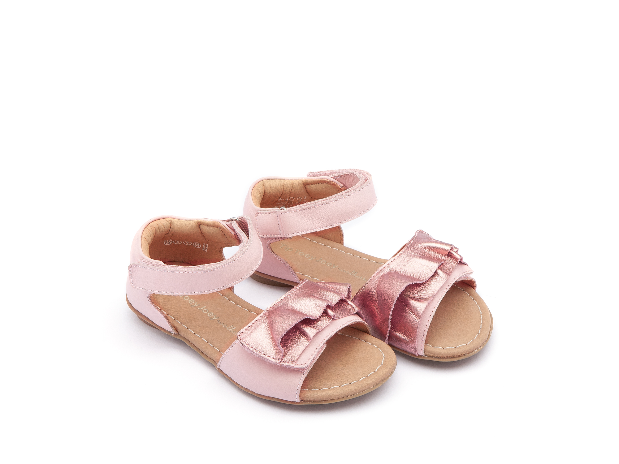 Sandália Little Wind Rose Gold/ Blossom Pink Toddler 2 à 4 anos - 0