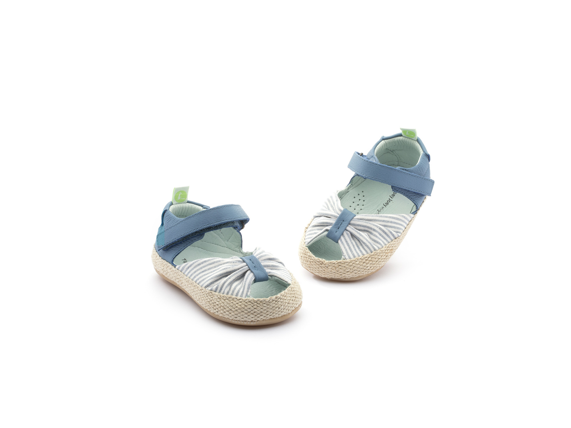 Sandália Coasty Light Navy Stripe Canvas/ Denim Baby 0 à 2 anos - 3