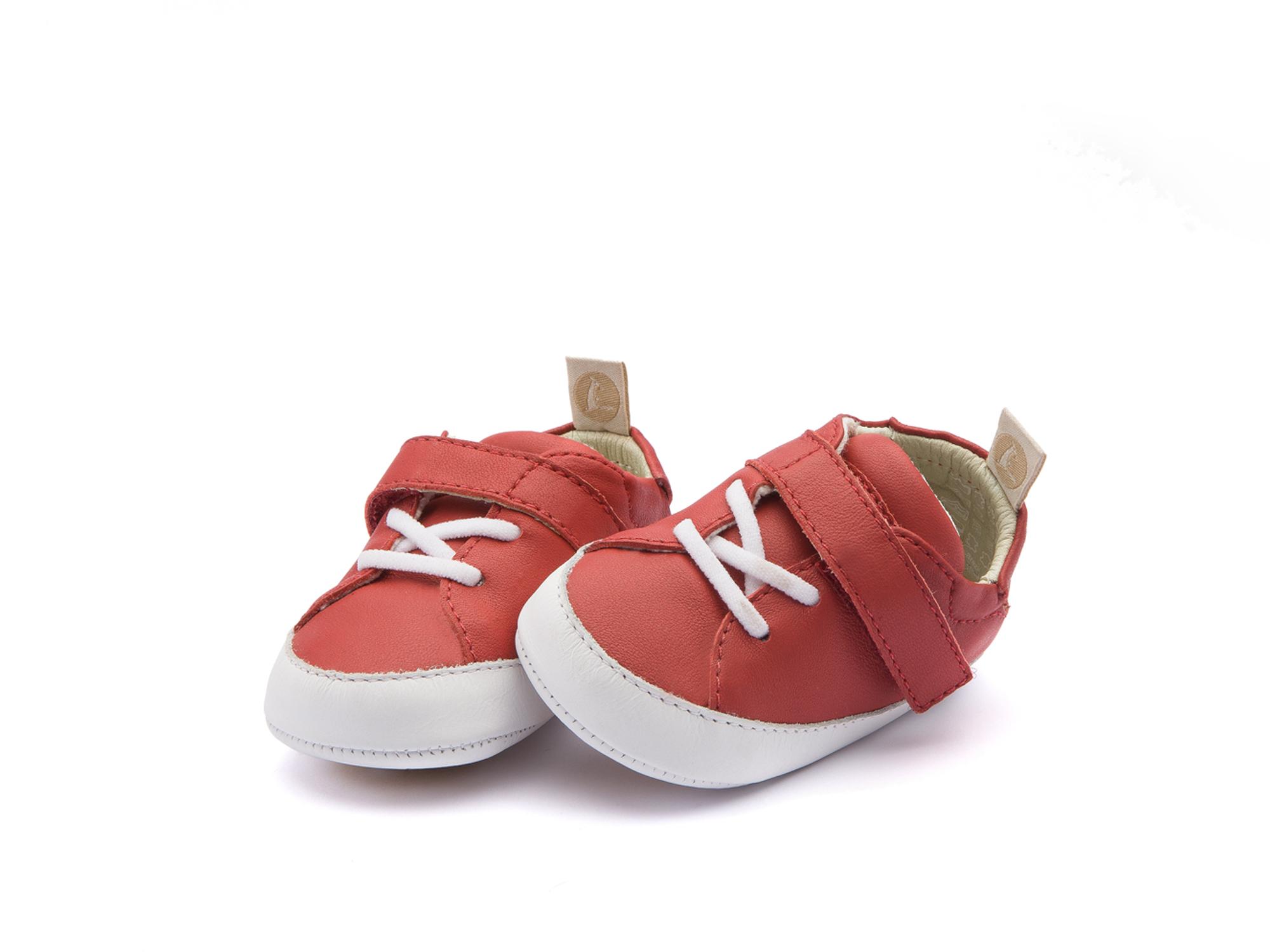 Tênis Light Pomo/ White Baby 0 à 2 anos - 1