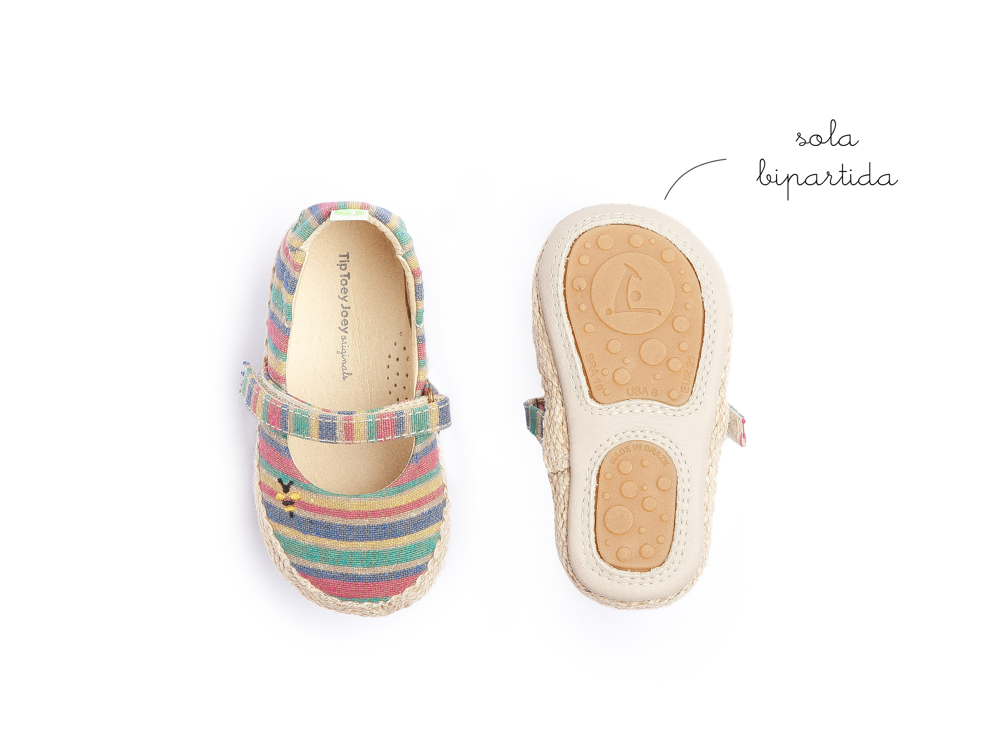 Boneca Sambaky Rainbow Canvas Beeswax Baby 0 à 2 anos - 1