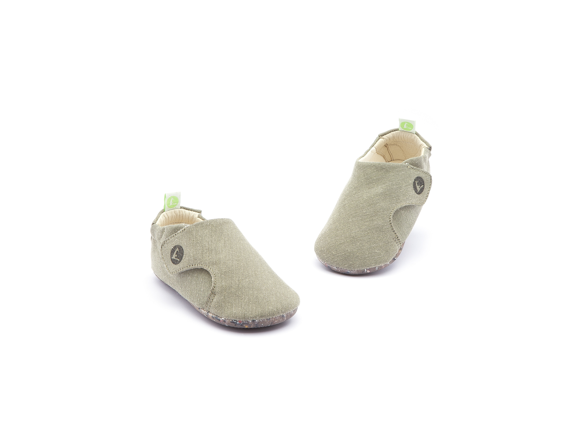 Sneaker Casual Greeny Light Olive Canvas Baby 0 à 2 anos - 3