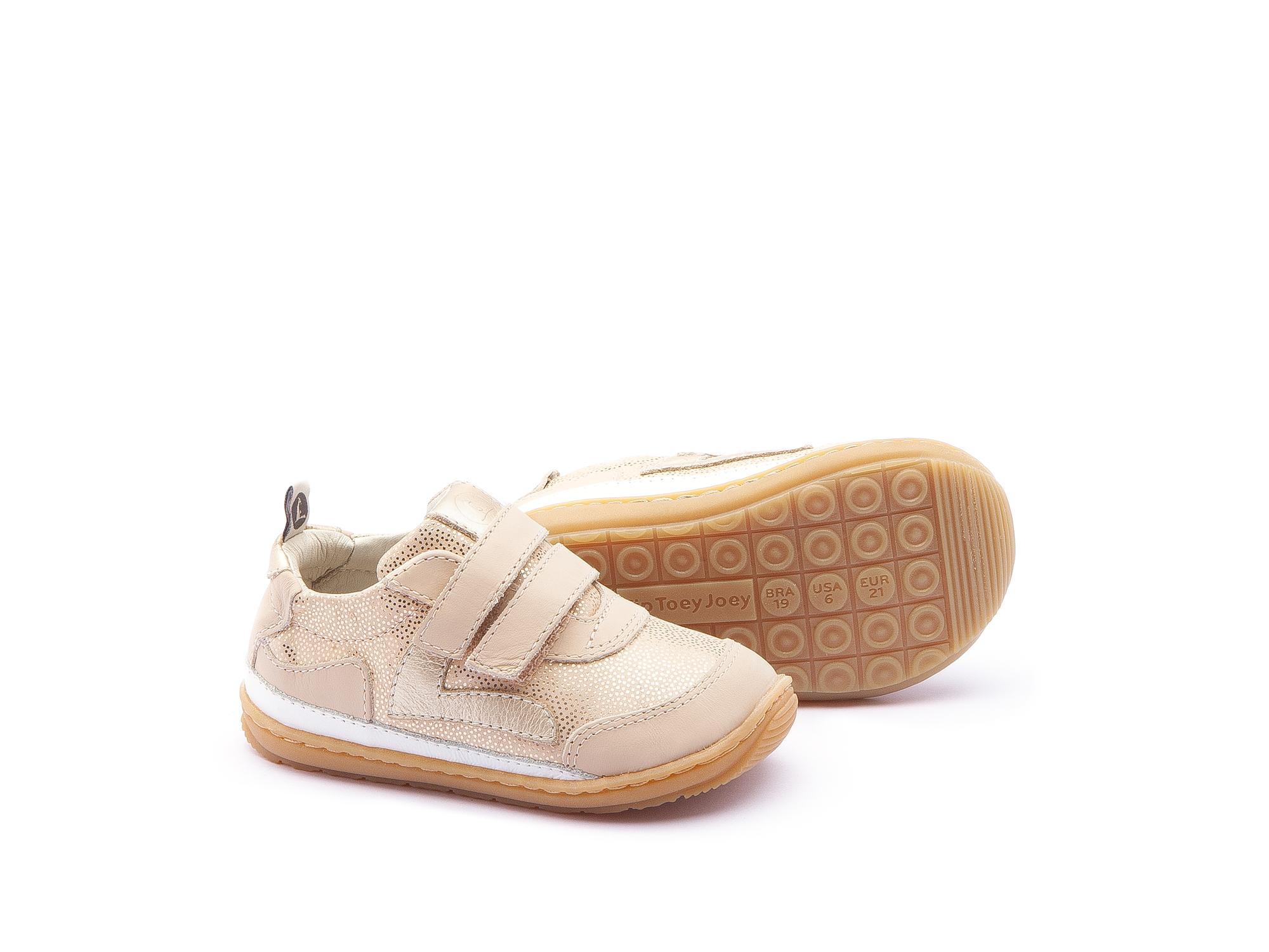 Sneaker Casual Jumpy Golden Sugar/ Yogurt Baby 0 à 2 anos - 2