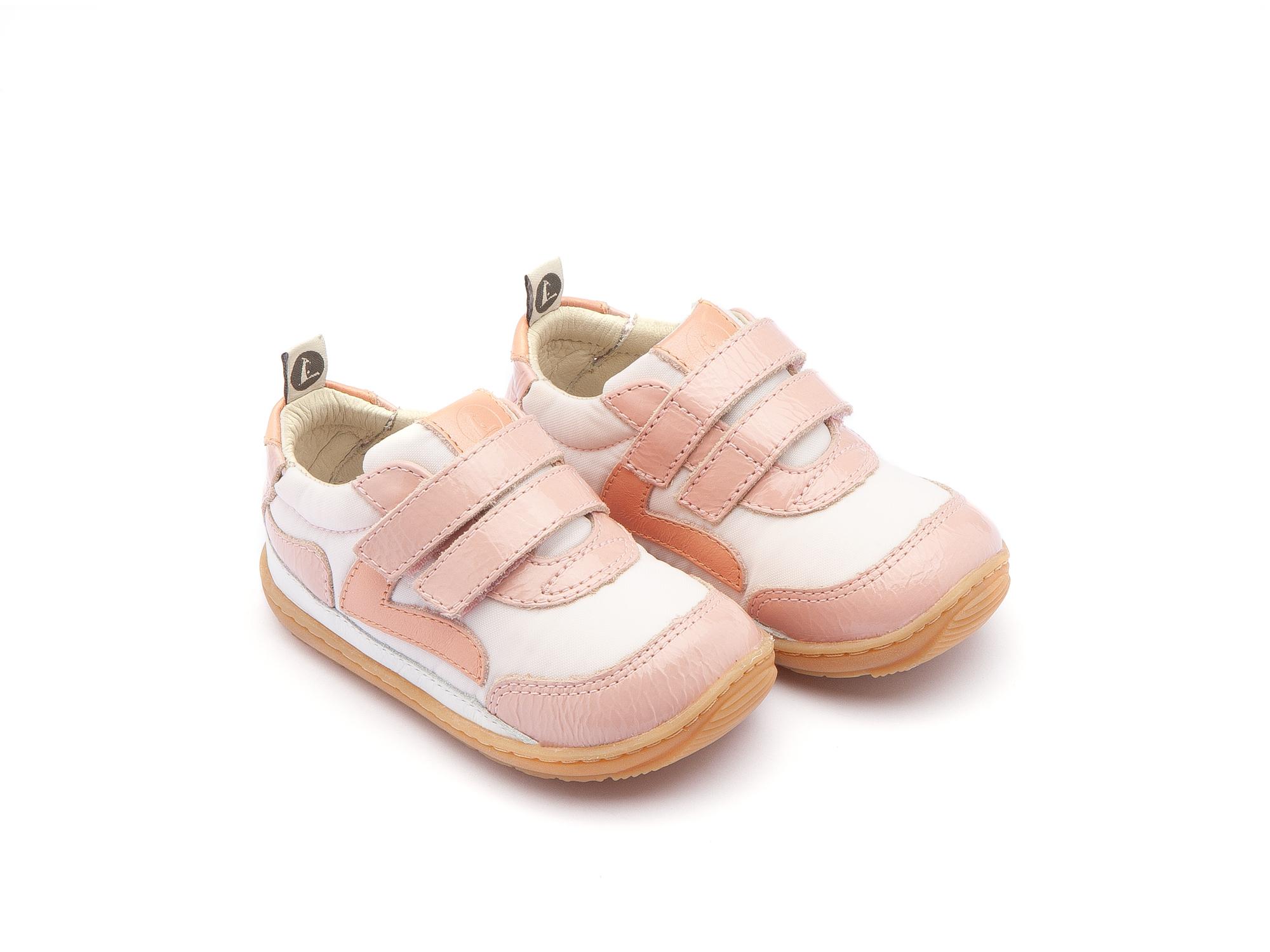 Sneaker Casual Jumpy Light Pink Nylon/ Patent Blush Baby 0 à 2 anos - 0