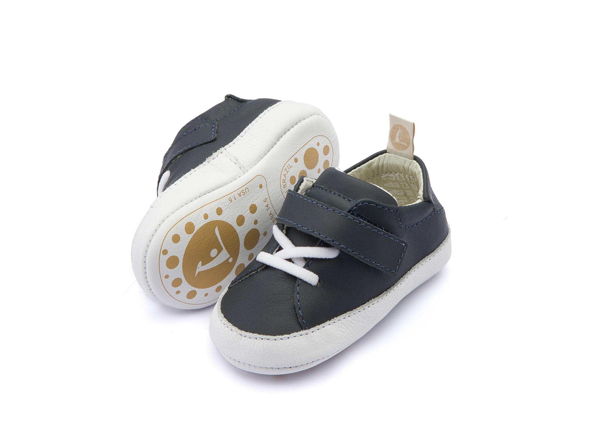 Tênis Light Navy/ White Baby 0 à 2 anos - 2