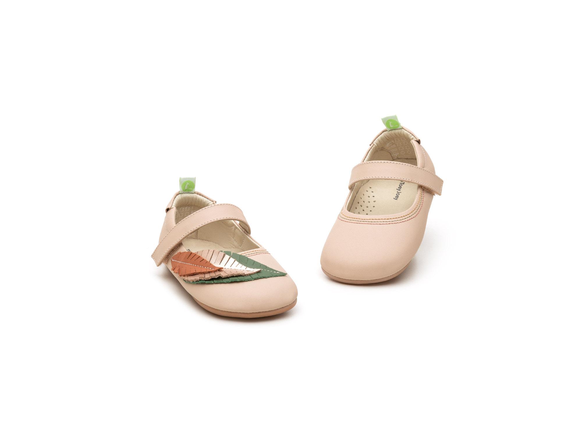 sapatilha Bebê feminino leafy