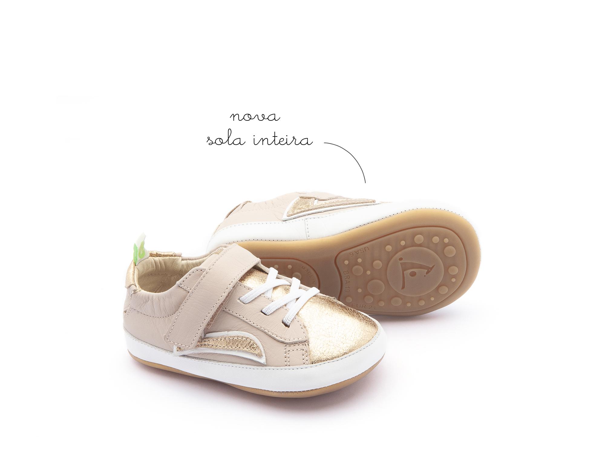 tenis Bebê feminino skidy