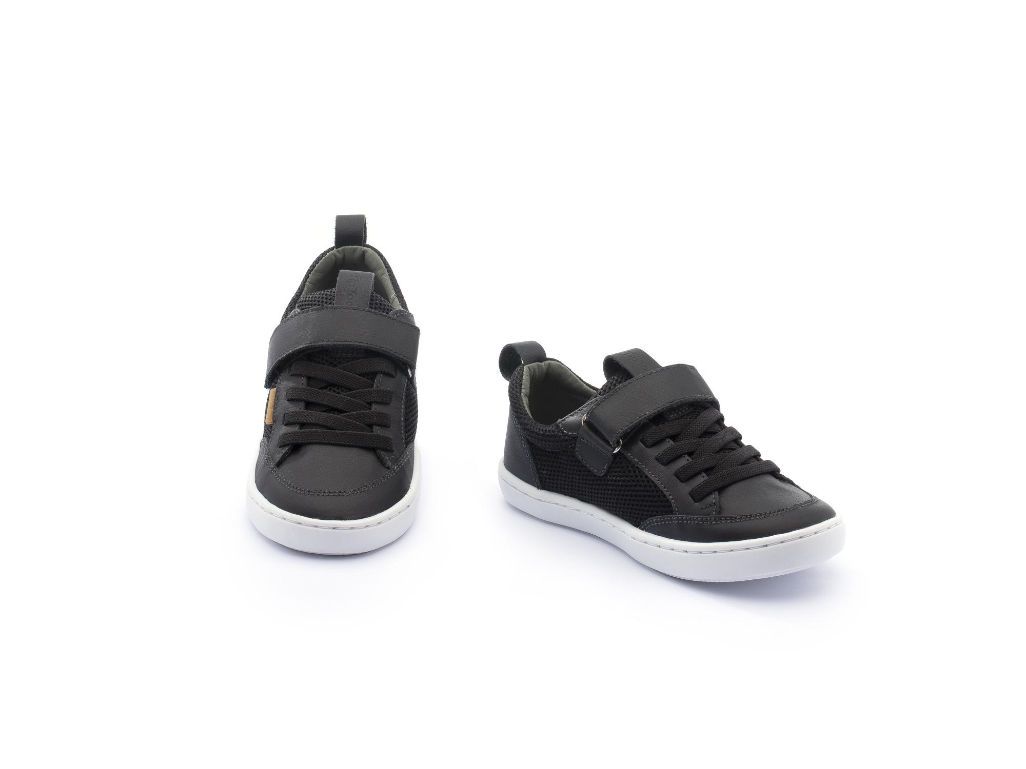 Sneaker Casual Little Urban Mesh Black/ Black Toddler 2 à 4 anos - 2