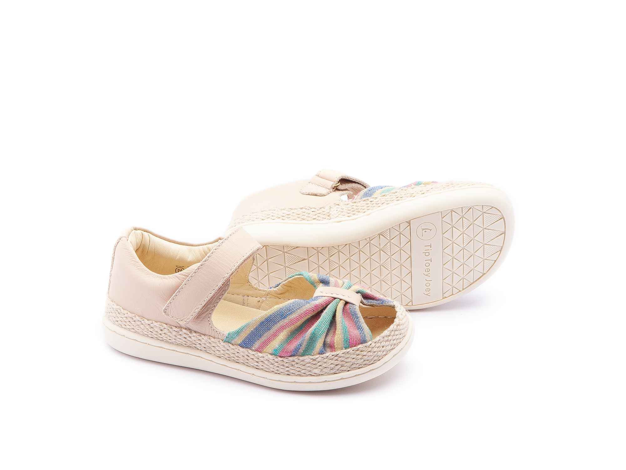Sandália Little Coast Rainbow Canvas/ Yogurt Toddler 2 à 4 anos - 2