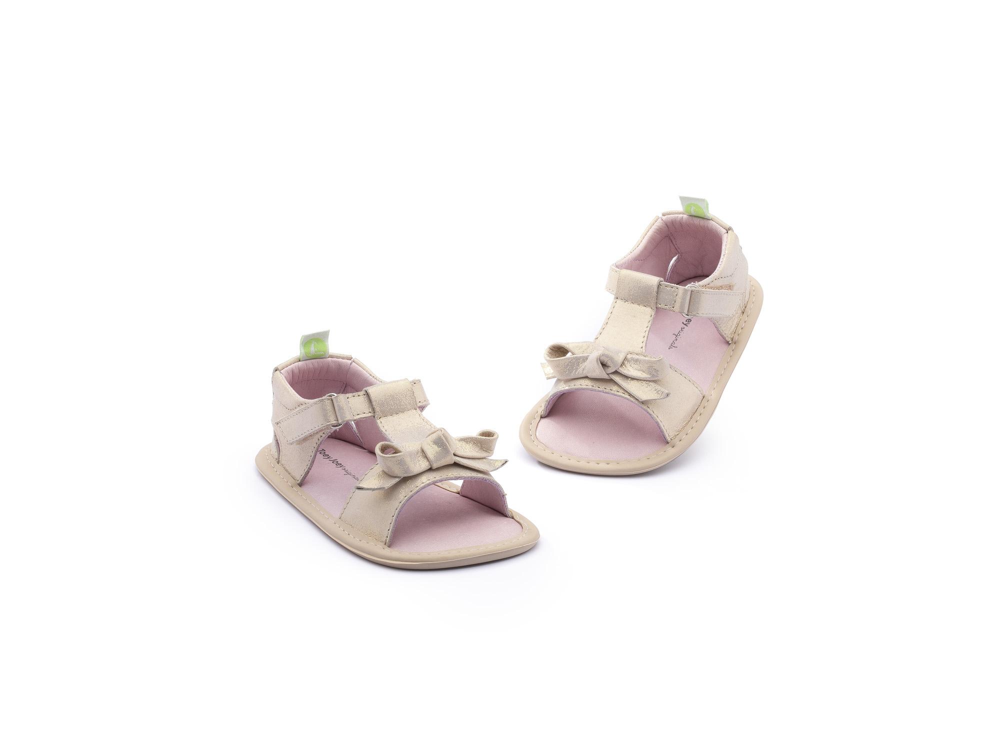 Sandália Whimsy Cotton Candy Foil Baby 0 à 2 anos - 3