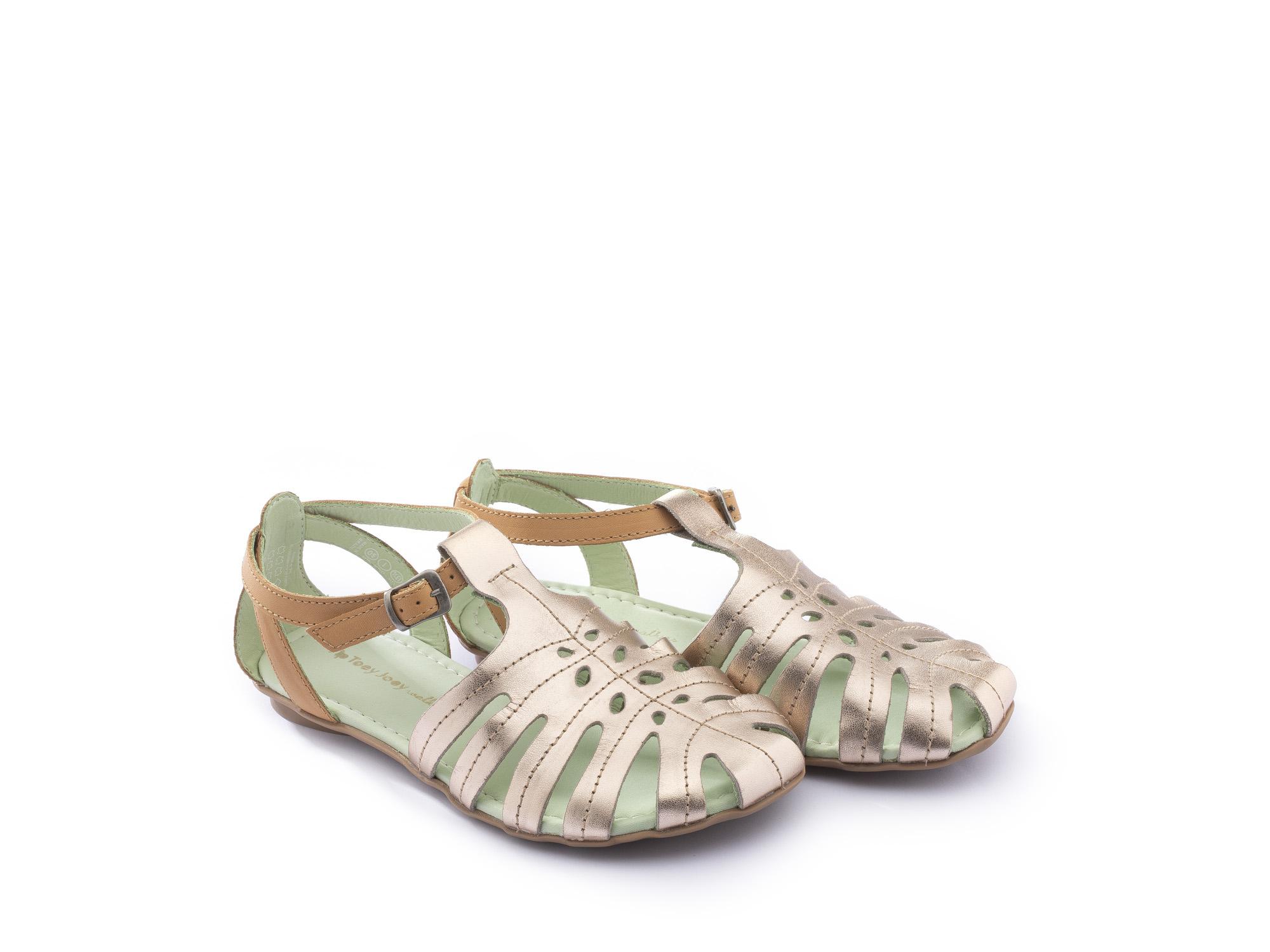 Sandália infantil feminino tropical