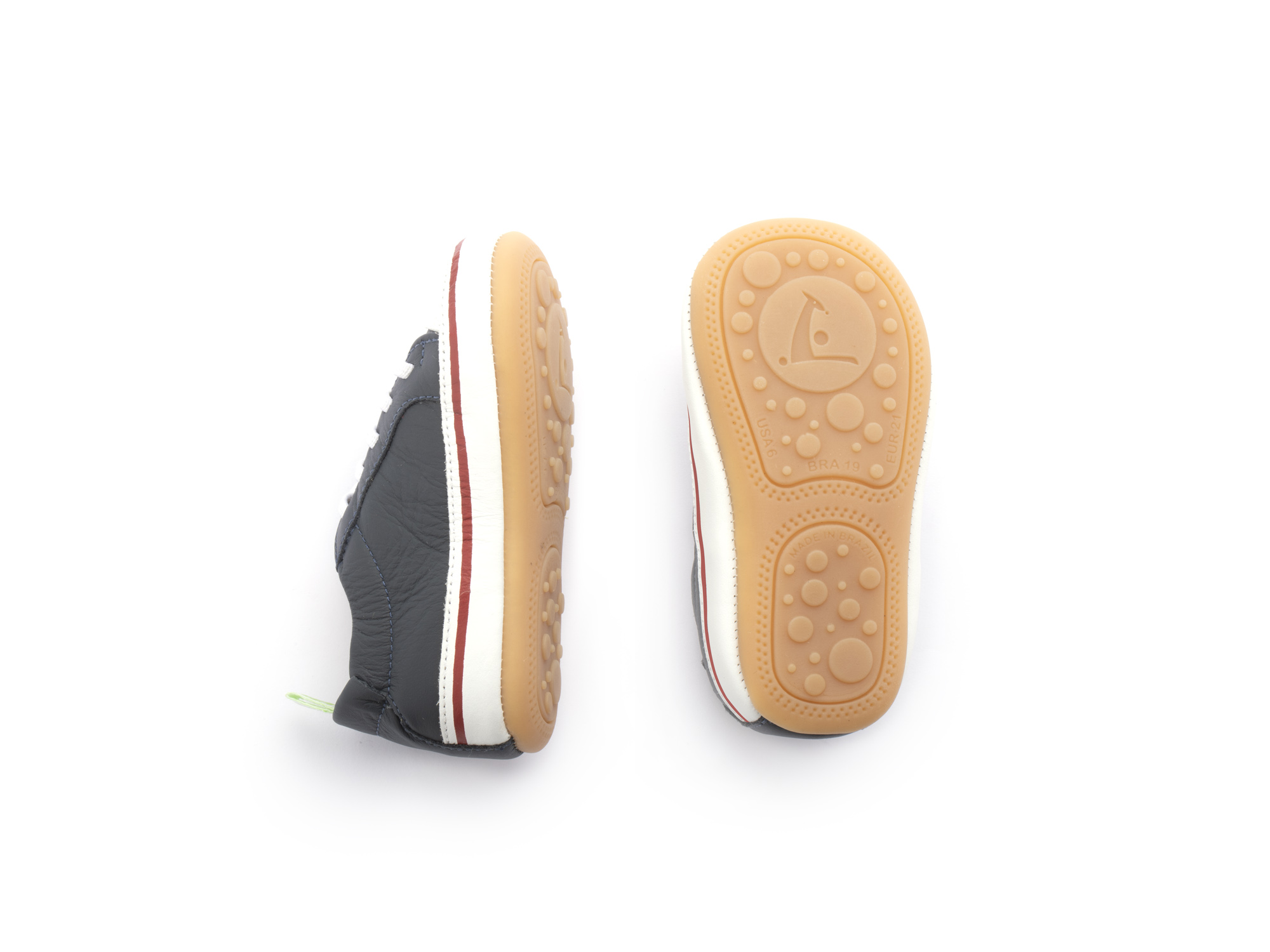 Sneaker Casual Funky Navy/ White Baby 0 à 2 anos - 1
