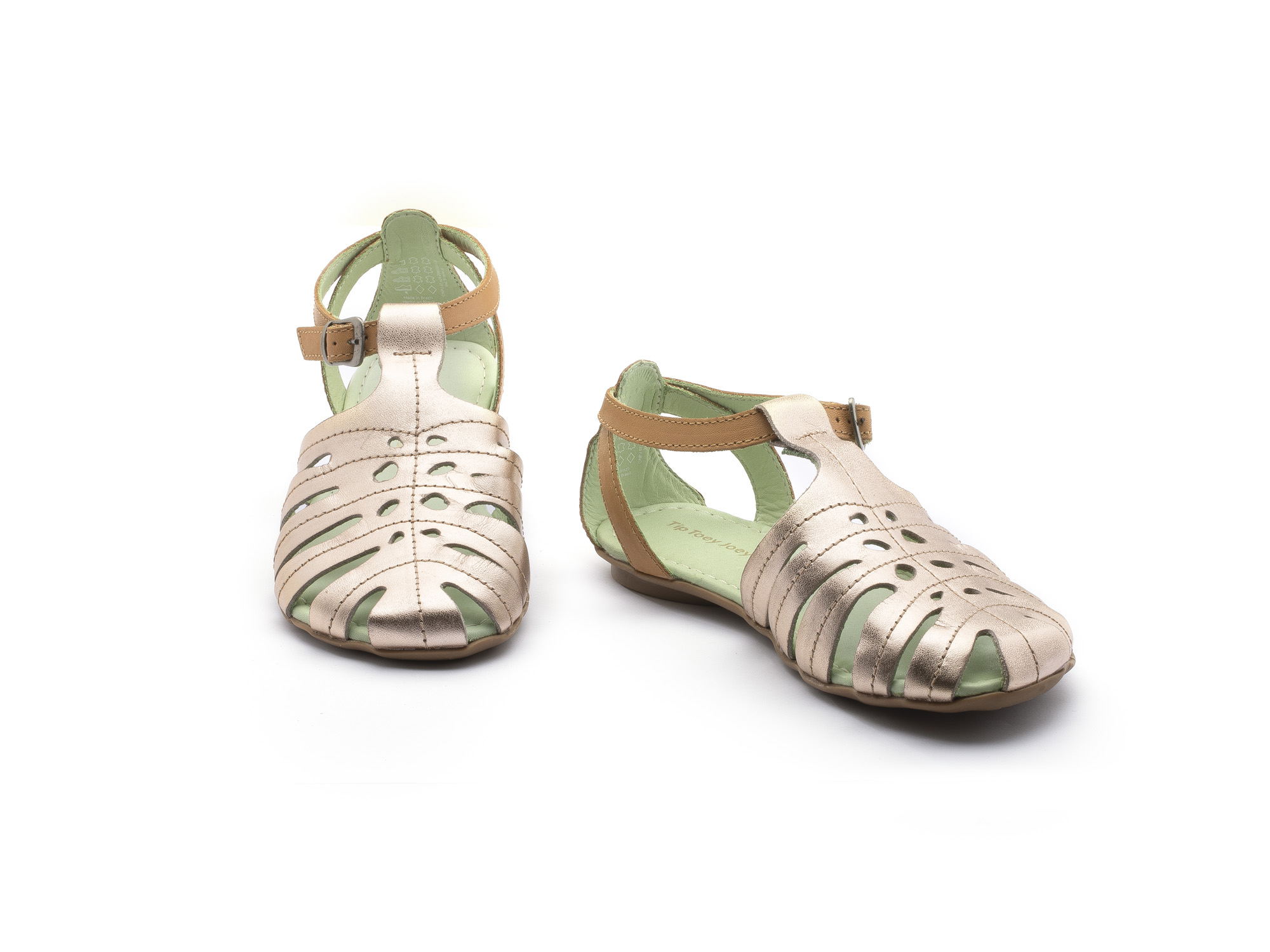 sandalia infantil feminino tropical