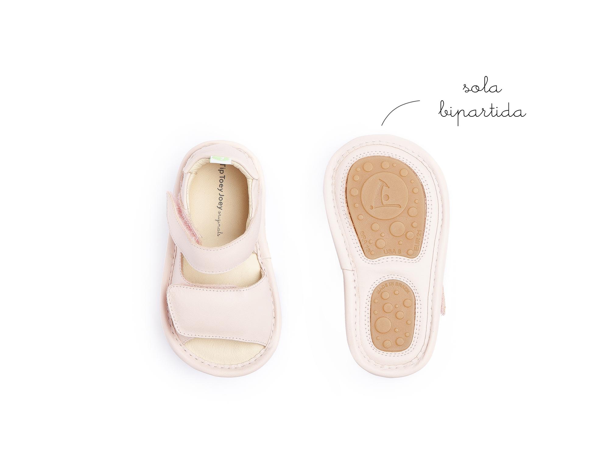 Sandália Toey Cotton Candy Baby 0 à 2 anos - 1