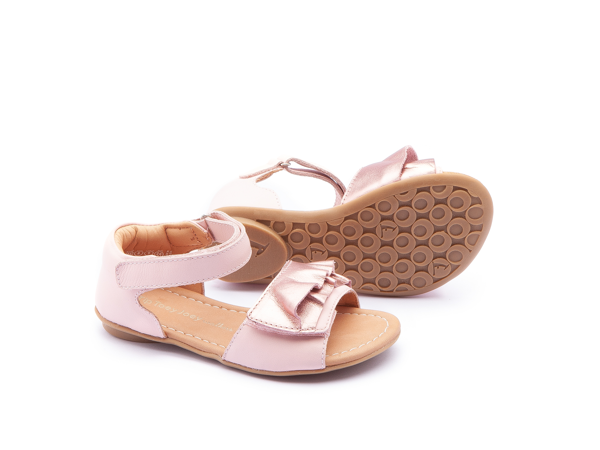 Sandália Little Wind Rose Gold/ Blossom Pink Toddler 2 à 4 anos - 2