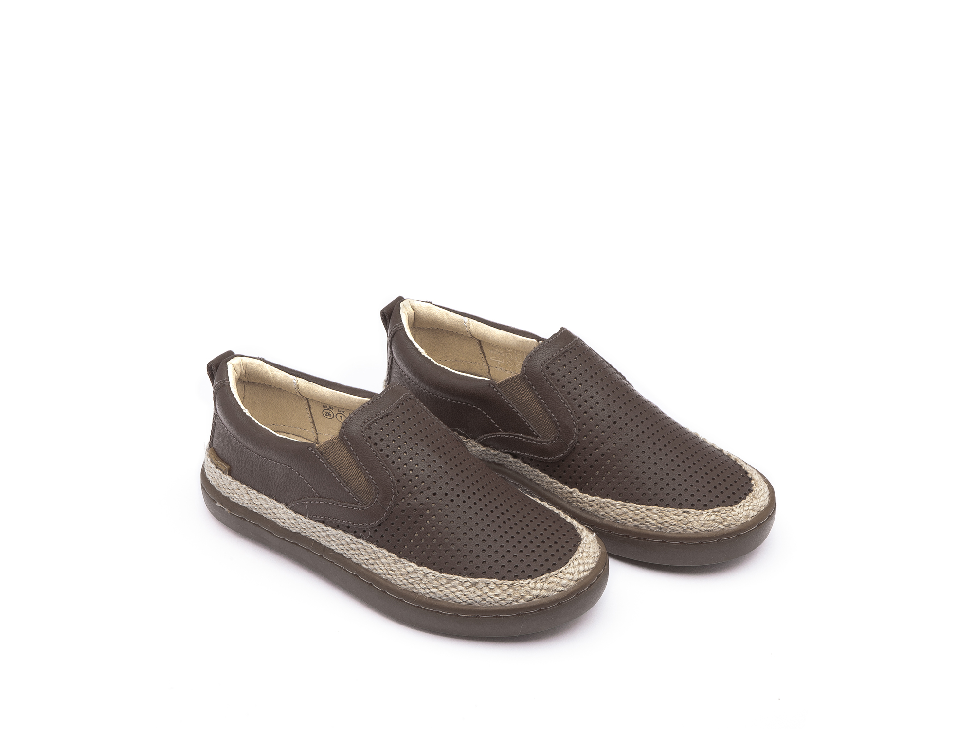 Tênis Little Straw Old Brown Holes/ Old Brown Toddler 2 à 4 anos - 0