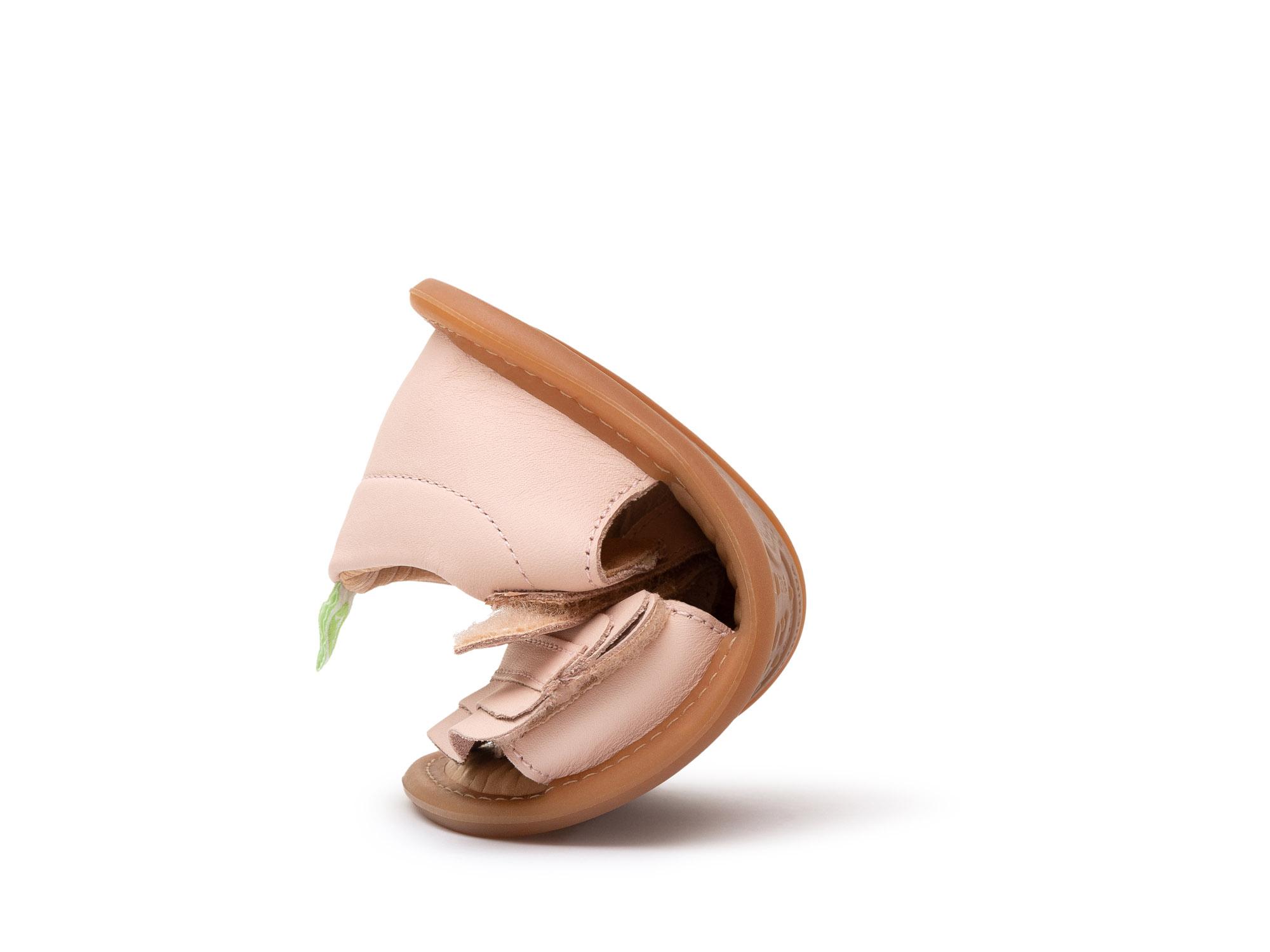 sandalia Bebê feminino ruffy