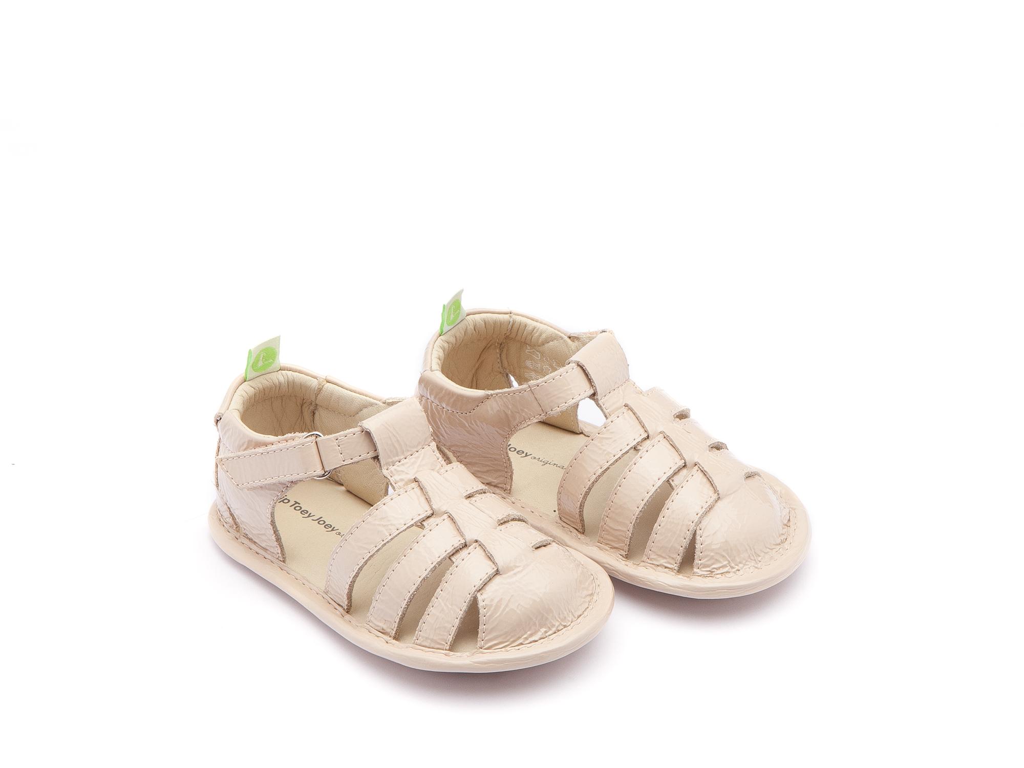 sandalia Bebê feminino minty