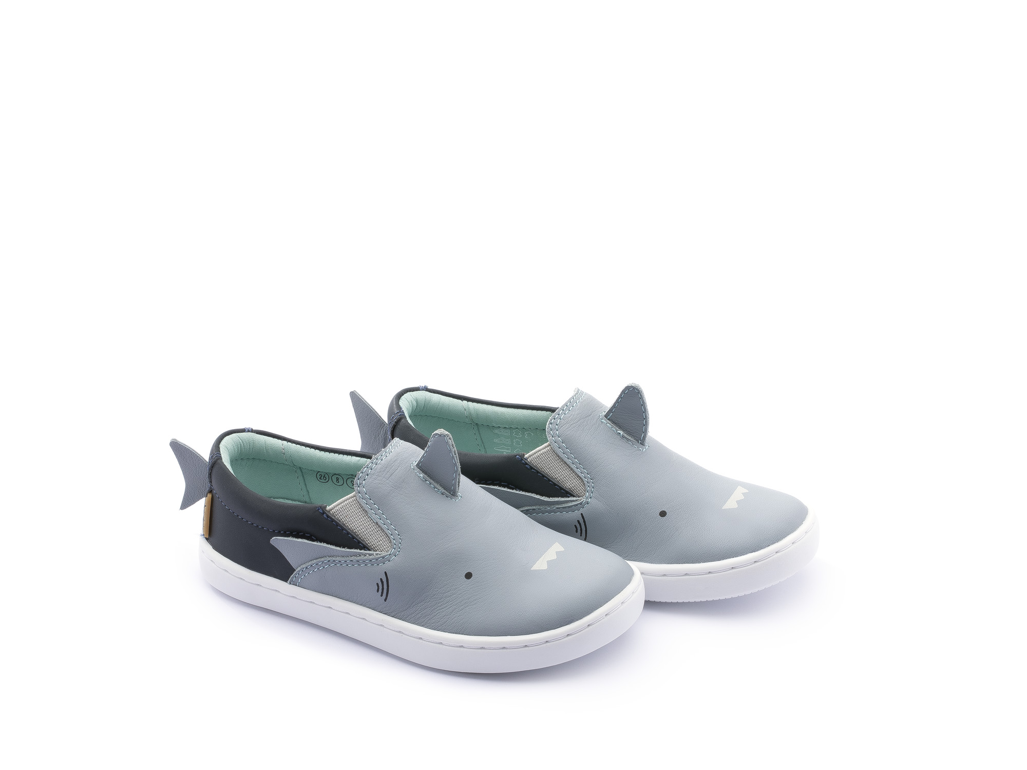 Tênis  infantil masculino little shark