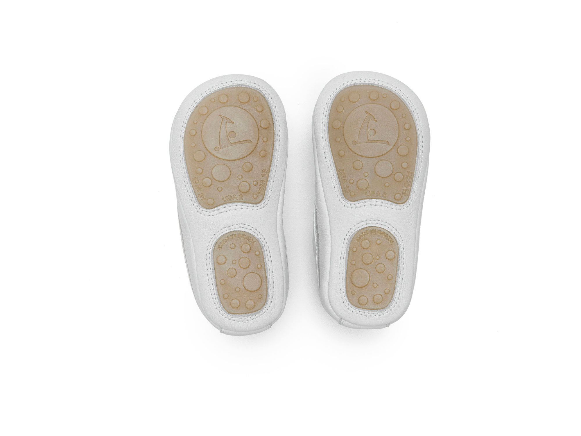 Tênis Funky White/ White  Baby 0 à 2 anos - 3