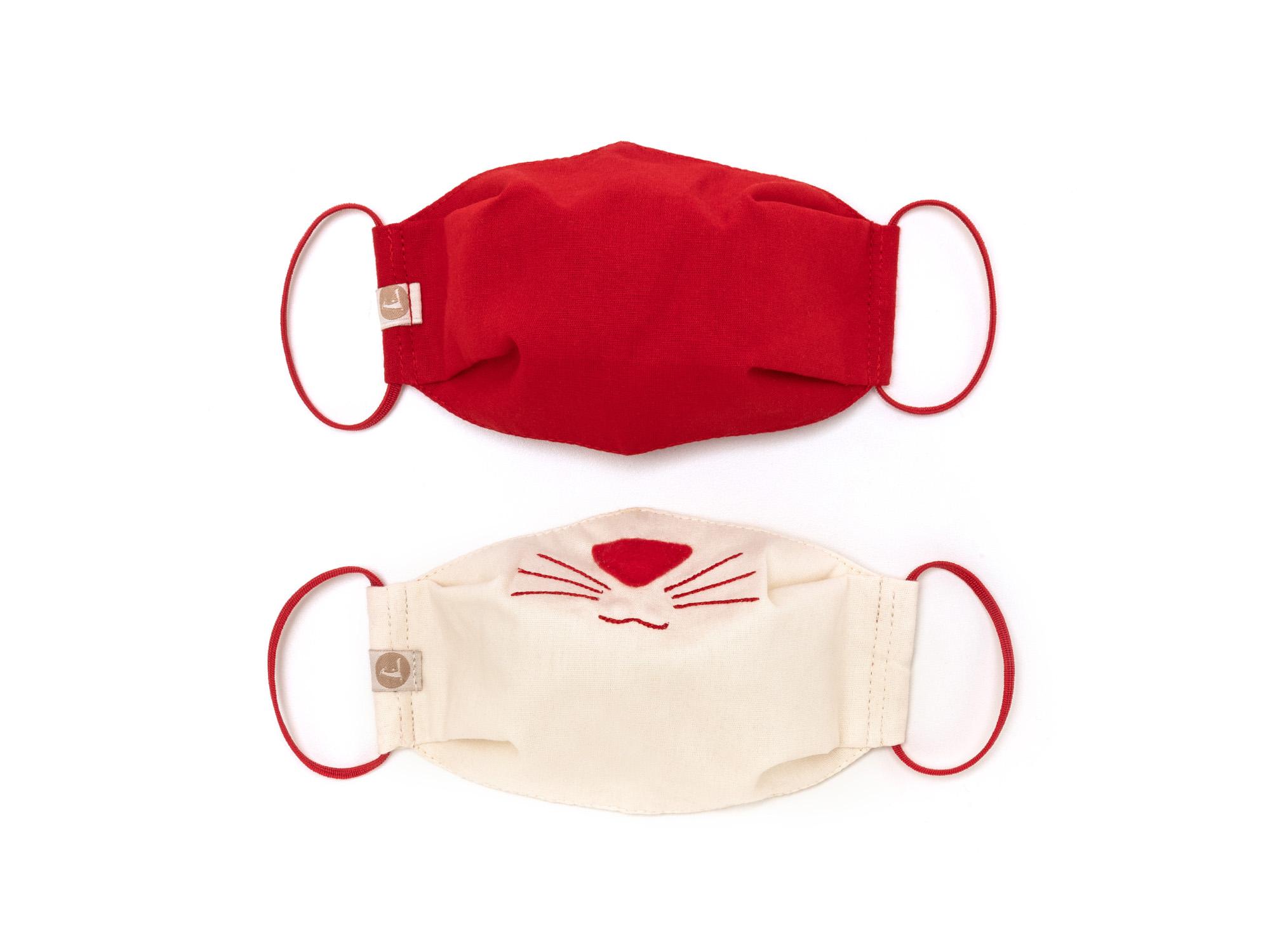mascara infantil unisex1 kit mascara gatinho