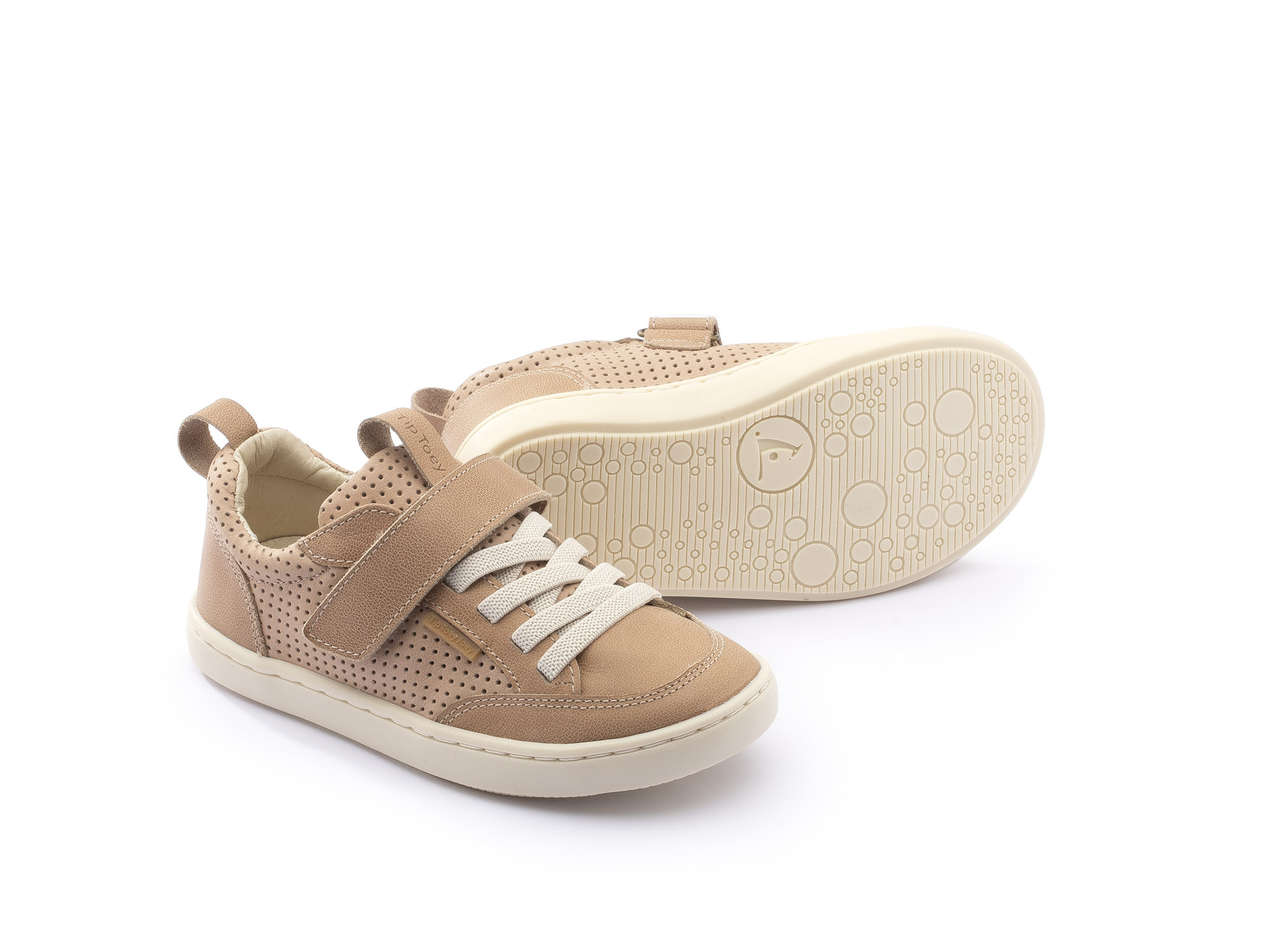 Sneaker Casual Little Urban Sand/ Sand Holes Toddler 2 à 4 anos - 1