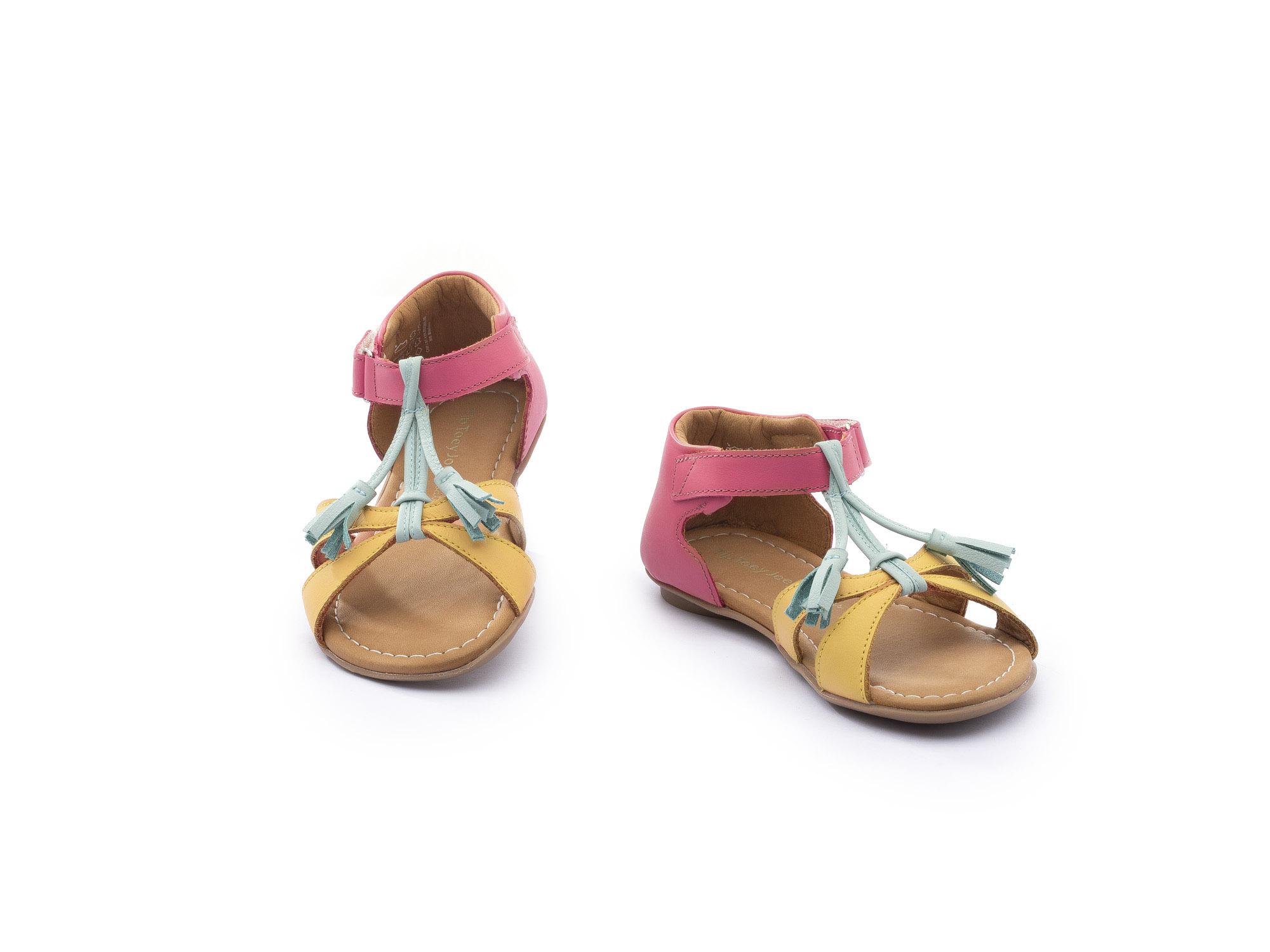 sandalia infantil feminino little joll