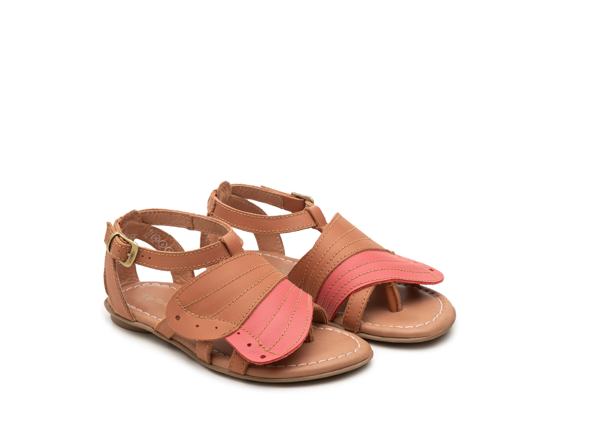 Sandália infantil feminino little flit