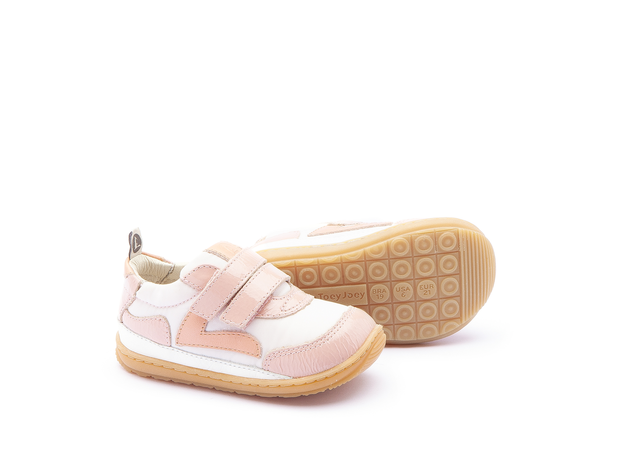Sneaker Casual Jumpy Light Pink Nylon/ Patent Blush Baby 0 à 2 anos - 2