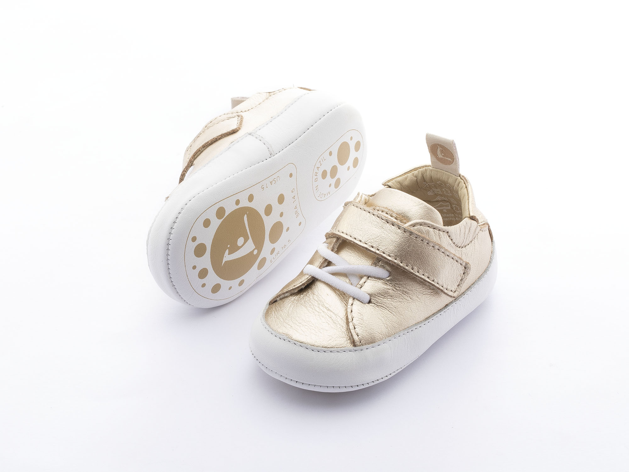 Sneaker Casual Light Champagne  Baby 0 à 2 anos - 2
