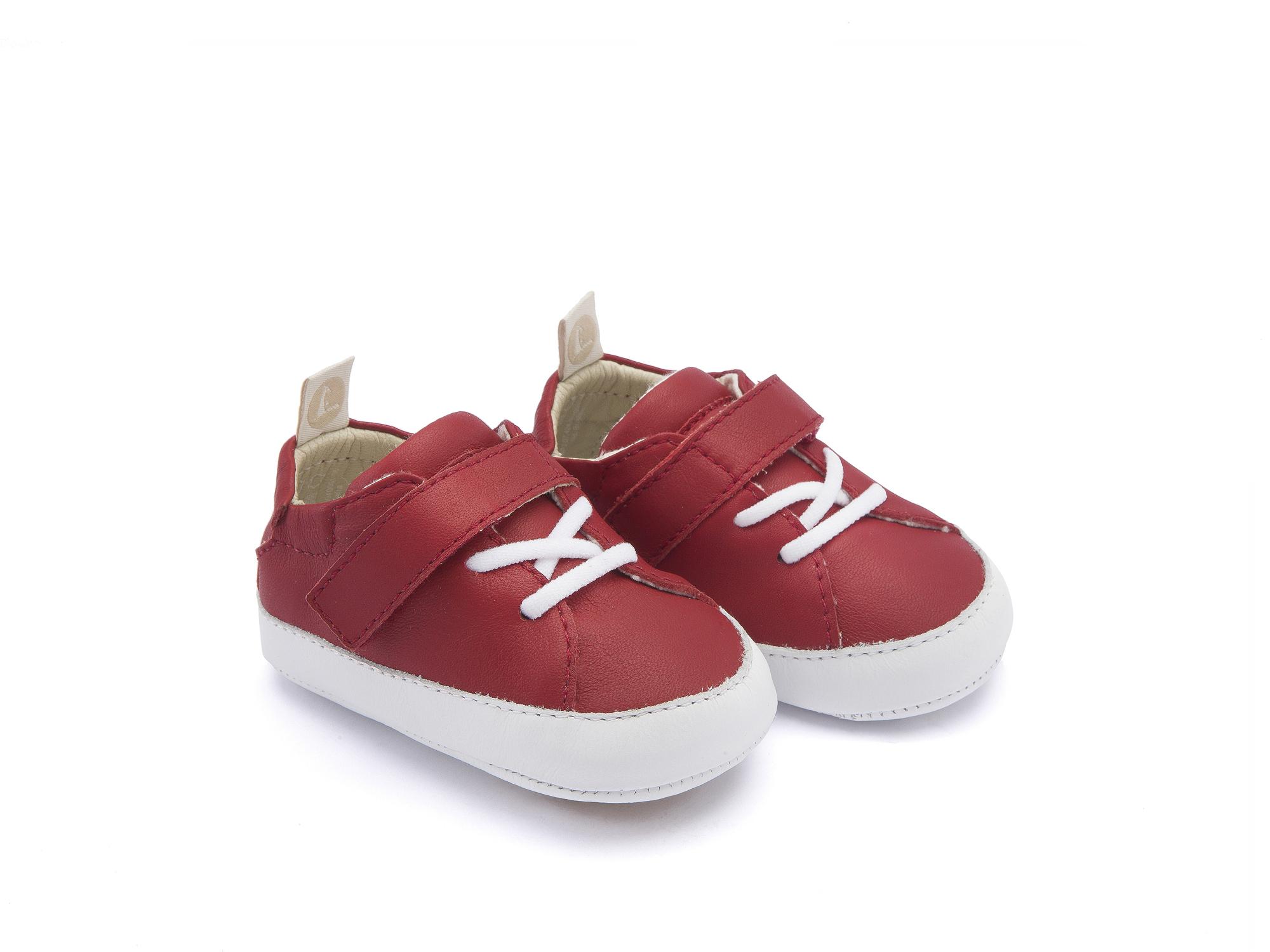 Tênis Light Pomo/ White Baby 0 à 2 anos - 0