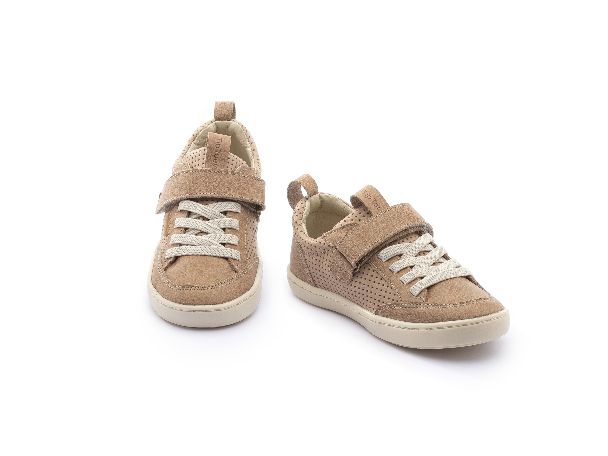 Sneaker Casual Little Urban Sand/ Sand Holes Toddler 2 à 4 anos - 2