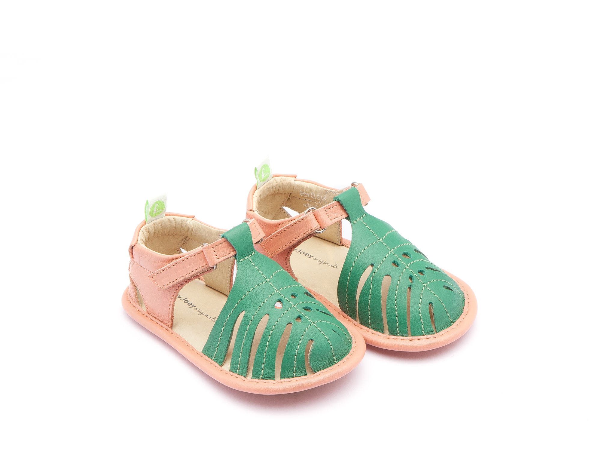 Sandália Tropically Green Leaf/ Flamingo Baby 0 à 2 anos - 0
