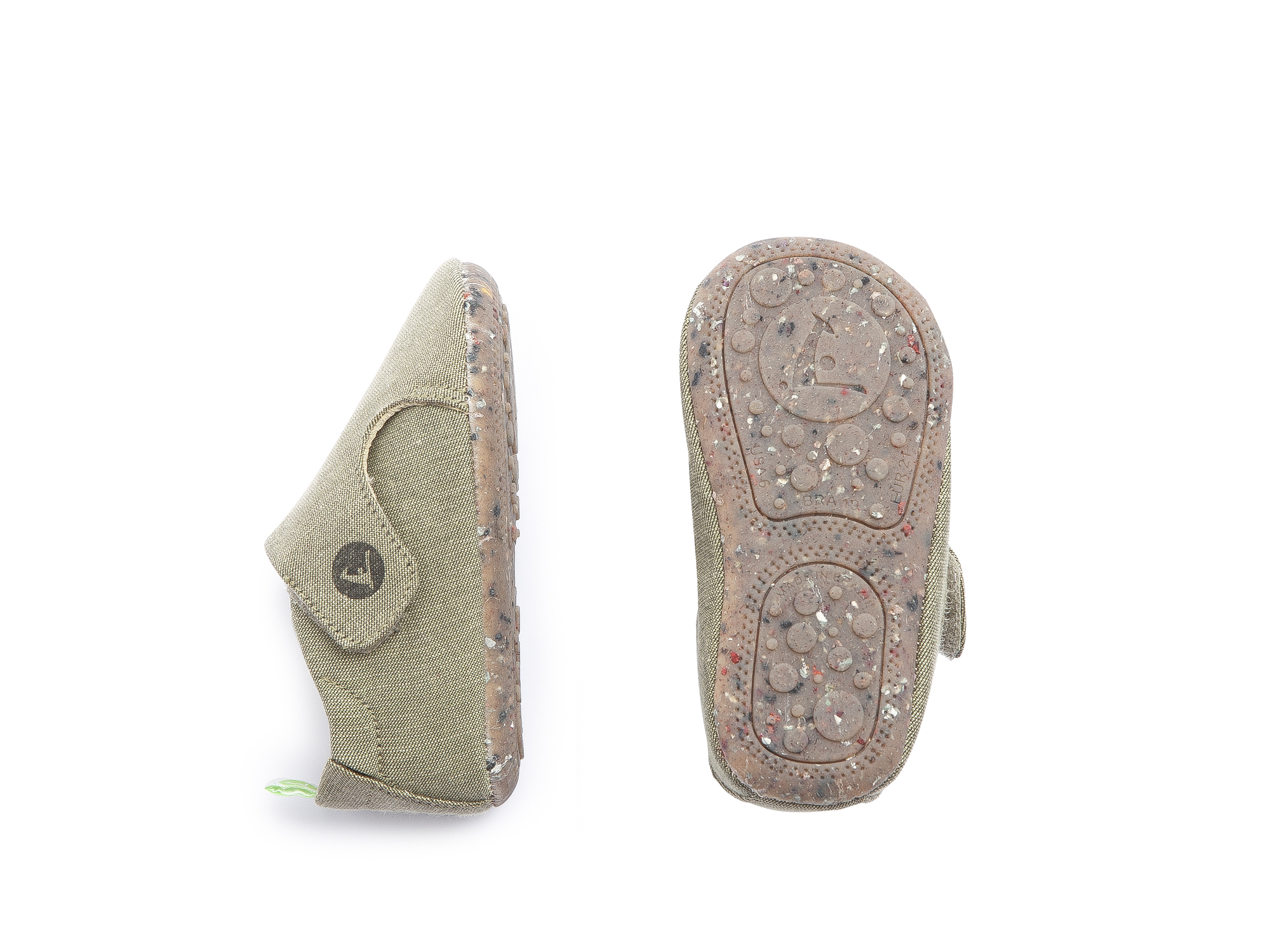 Sneaker Casual Greeny Light Olive Canvas Baby 0 à 2 anos - 1