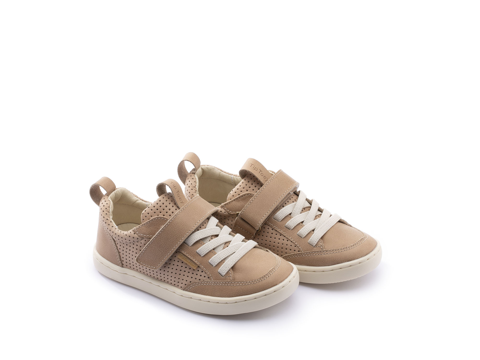 Sneaker Casual Little Urban Sand/ Sand Holes Toddler 2 à 4 anos - 0