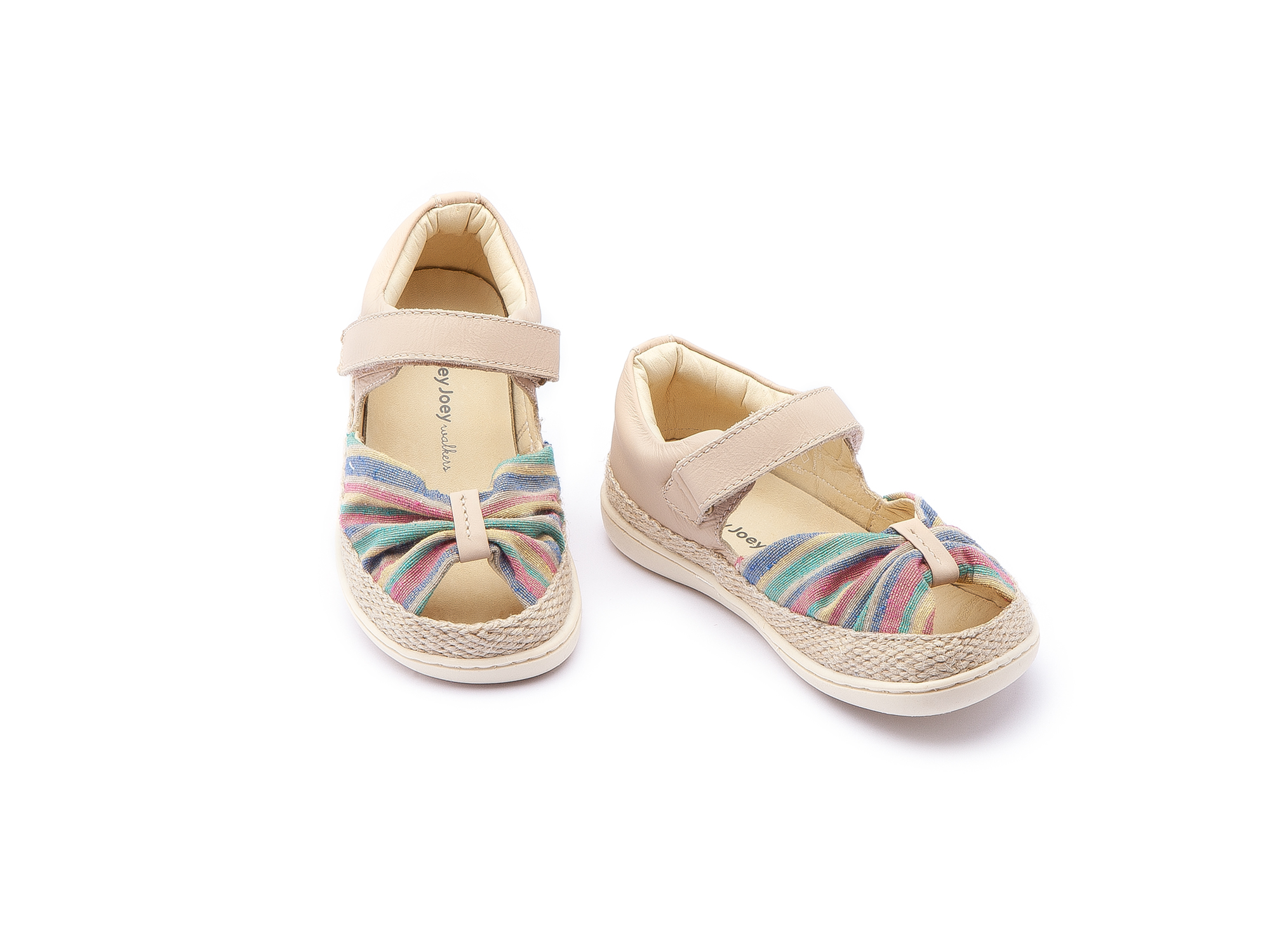 Sandália Little Coast Rainbow Canvas/ Yogurt Toddler 2 à 4 anos - 1