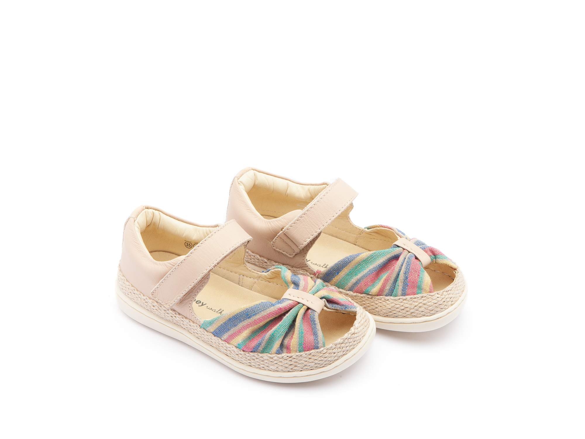 Sandália Little Coast Rainbow Canvas/ Yogurt Toddler 2 à 4 anos - 0