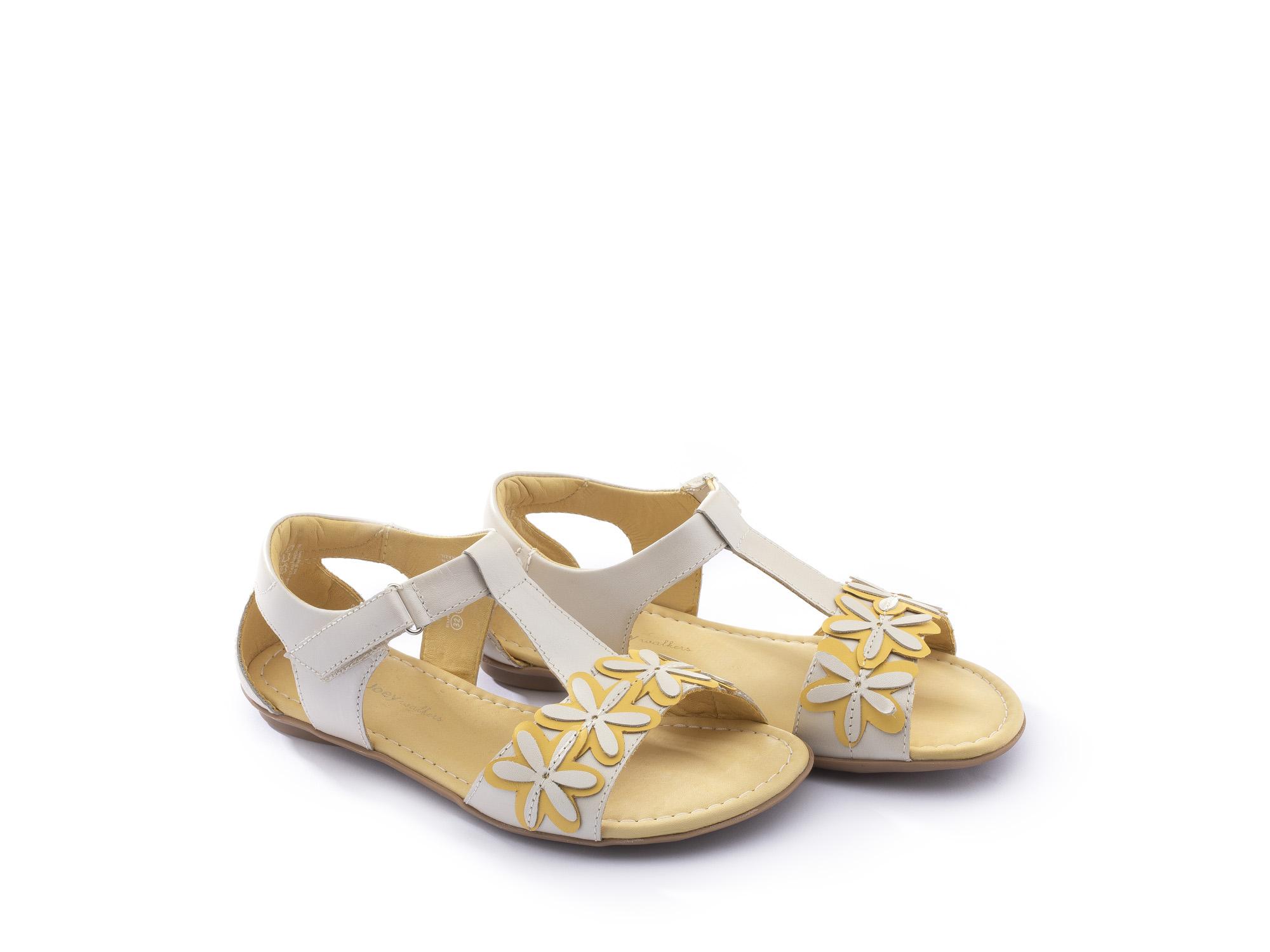 Sandália infantil feminino daisies