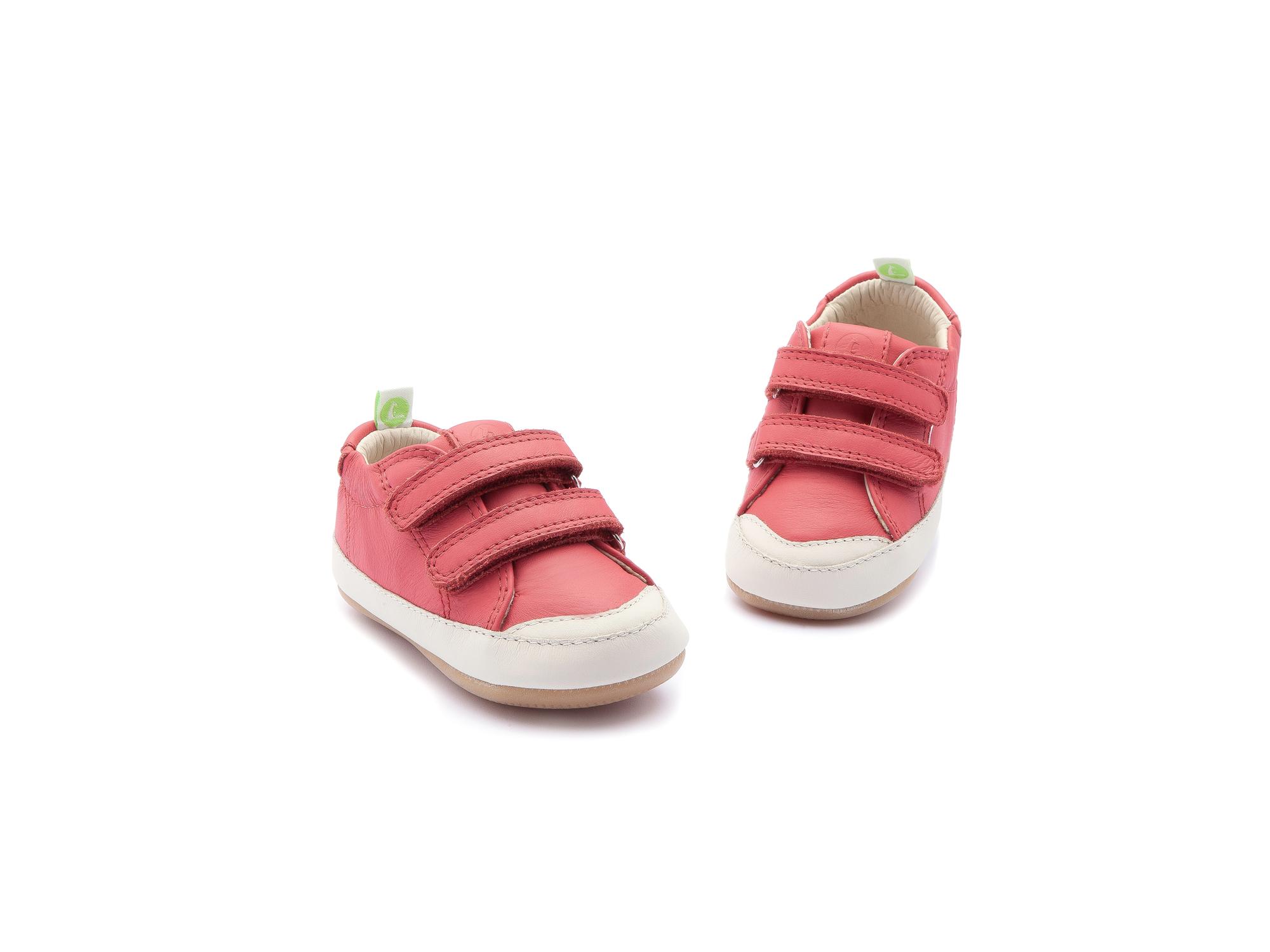 Tênis Bossy Cranberry/ Tapioca Baby 0 à 2 anos - 3