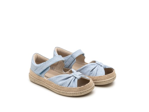 Sandália infantil feminino little coast green