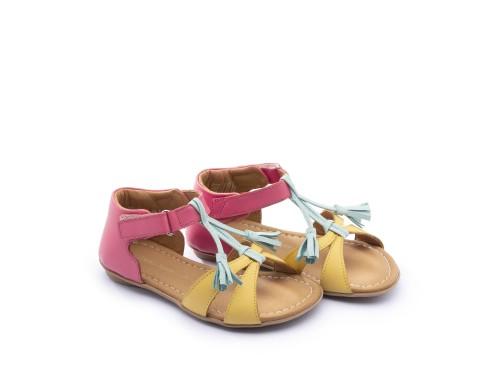 Sandália infantil feminino little joll