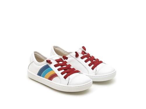 Tênis  infantil masculino funk rainbow